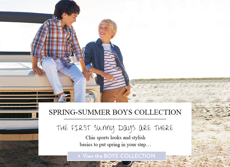 View the boys' collection