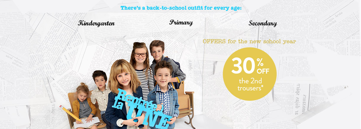 Offer for the new school year