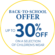 Back-to-school offer : Up to 30% off