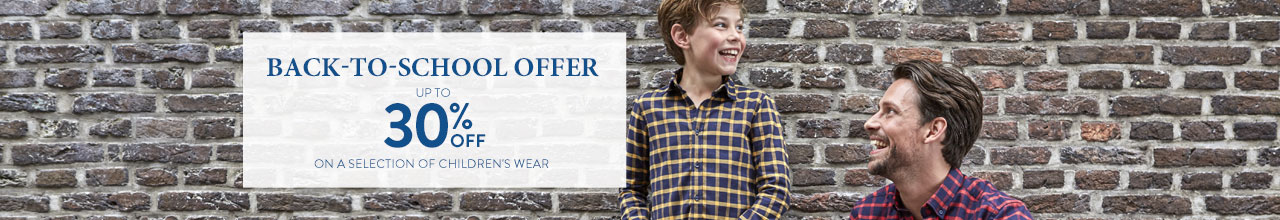 Boys' back-to-school offer