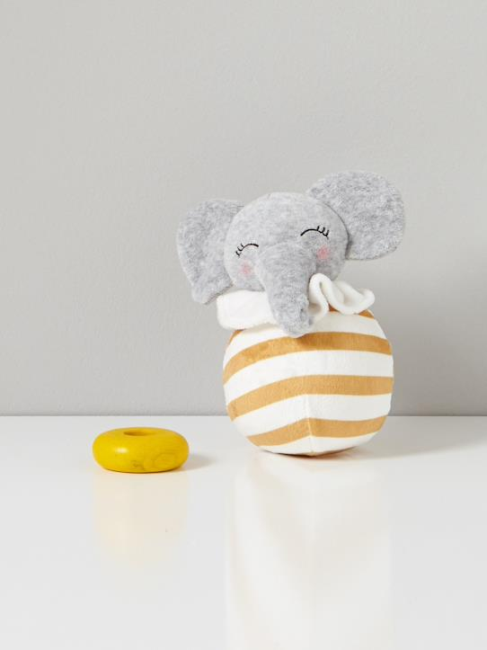 Home-Baby-Toys, soft and plush toys-ELEPHANT WOBBLY TOY