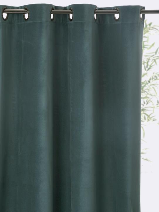 Home-Decoration-Curtains-VELOUR RING TOP CURTAIN