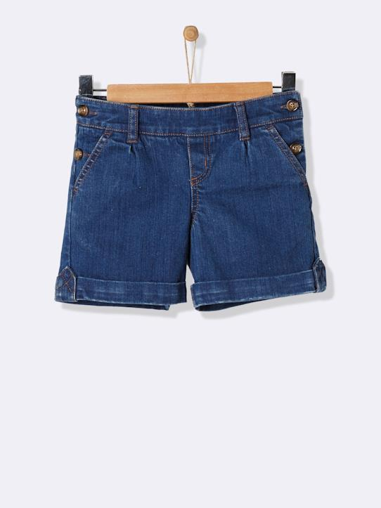 Girls-GIRL'S DENIM SHORTS