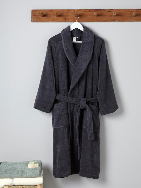 Home-Bathroom-Bathrobes-Adult shawl collar bathrobe