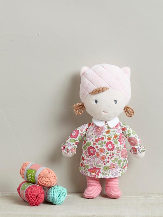 Home-Baby-Toys, soft and plush toys-LIBERTY FABRIC DOLL