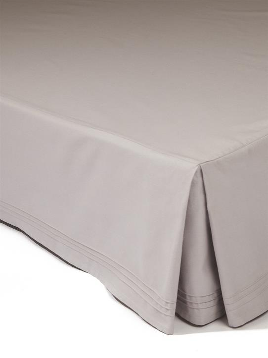 Home-Bedroom-Bed base covers, cushions-DUST RUFFLE WITH PINTUCK DETAILING